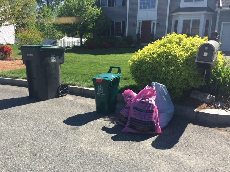 Pink Bag Program Curbside Collections